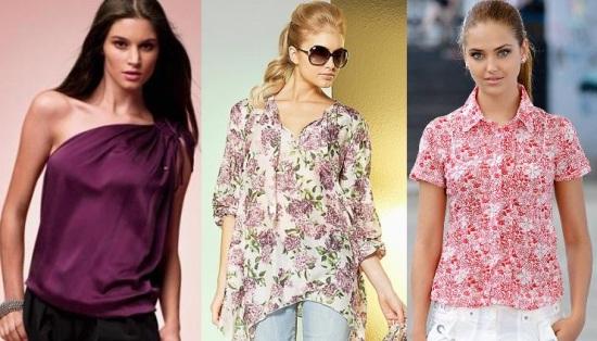 Разные Блузки